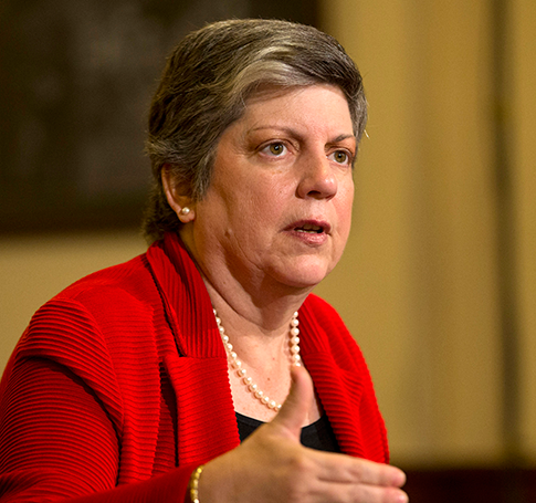 DHS Secretary Janet Napolitano testifies on Capitol Hill April 18, 2013, before the House Homeland Security Committee. (AP)