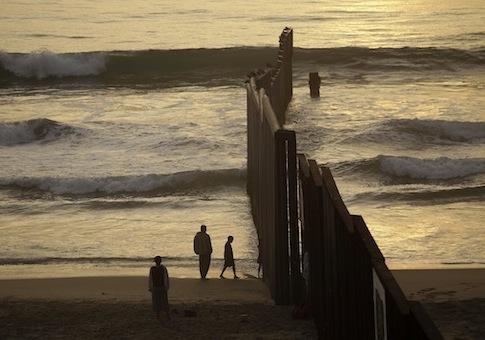 U.S.-Mexico border / AP