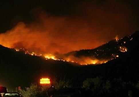 Arizona wildfires / AP