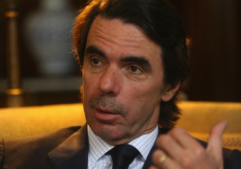 Former Spanish Prime Minister Jose Maria Aznar / AP
