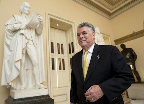 Rep. Peter King (R., N.Y.) / AP
