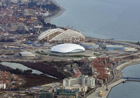 Rússia Sochi Jogos Olímpicos de Inverno de 2014 Venues