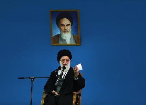 Iranian Supreme Leader's Office, supreme leader Ayatollah Ali Khamenei / AP