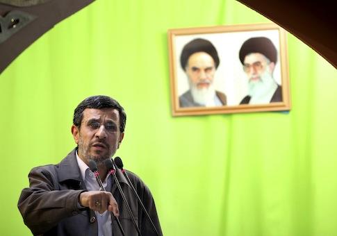 Former Iranian President Mahmoud Ahmadinejad / AP