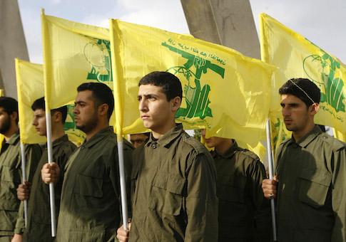 Hezbollah fighters / AP