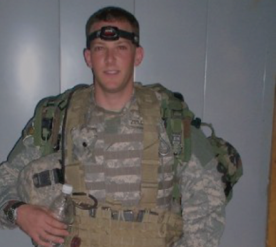 Maj. Lee Zeldin, coward? (photo via Facebook)