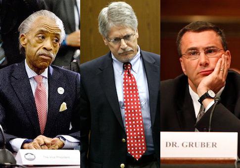 Al Sharpton, Mike Nifong, Jonathan Gruber / AP