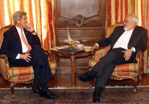 John Kerry and Mohammad Javad Zarif / AP