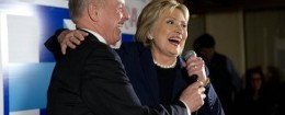 Howard Dean, Hillary Clinton