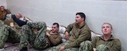 captured u.s. sailors detained