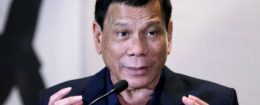 President of the Philippines Rodrigo Duterte / REUTERS