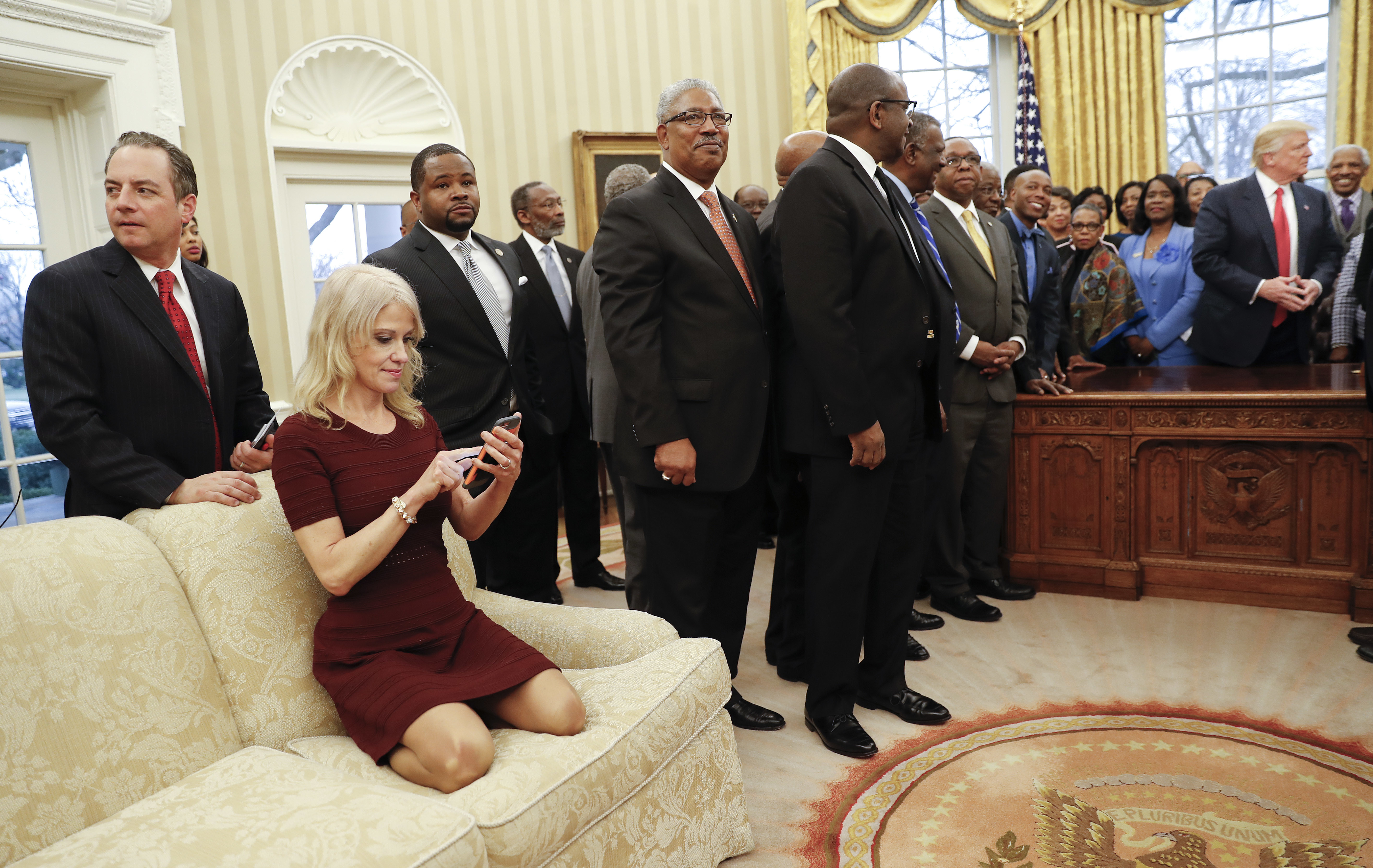 Kellyanne Conway unplugged: Here's why I look haggard, you haters!