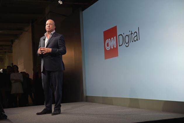 President of CNN Worldwide Jeff Zucker