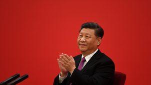 Chinese President Xi Jinping Speaks With Russian President Vladimir Putin Via Video Link