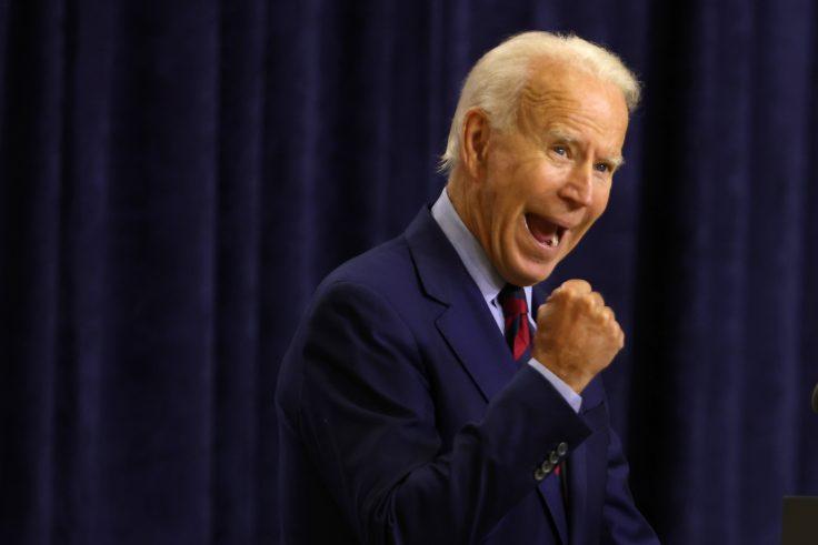 Joe Biden, candidat démocrate à la présidence, s'exprime à Wilmington, Delaware